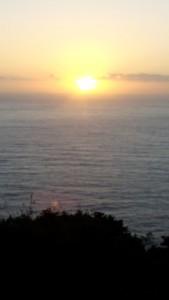 coucher soleil Fistera