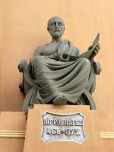 Hippocrate. 468-377.